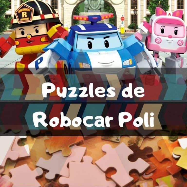 Los mejores puzzles de Robocar Poli