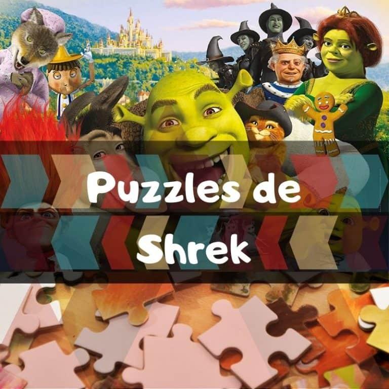 Los mejores puzzles de Shrek