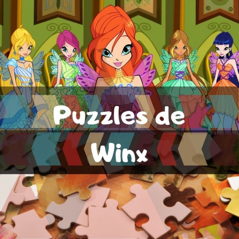 Los mejores puzzles de Winx Club