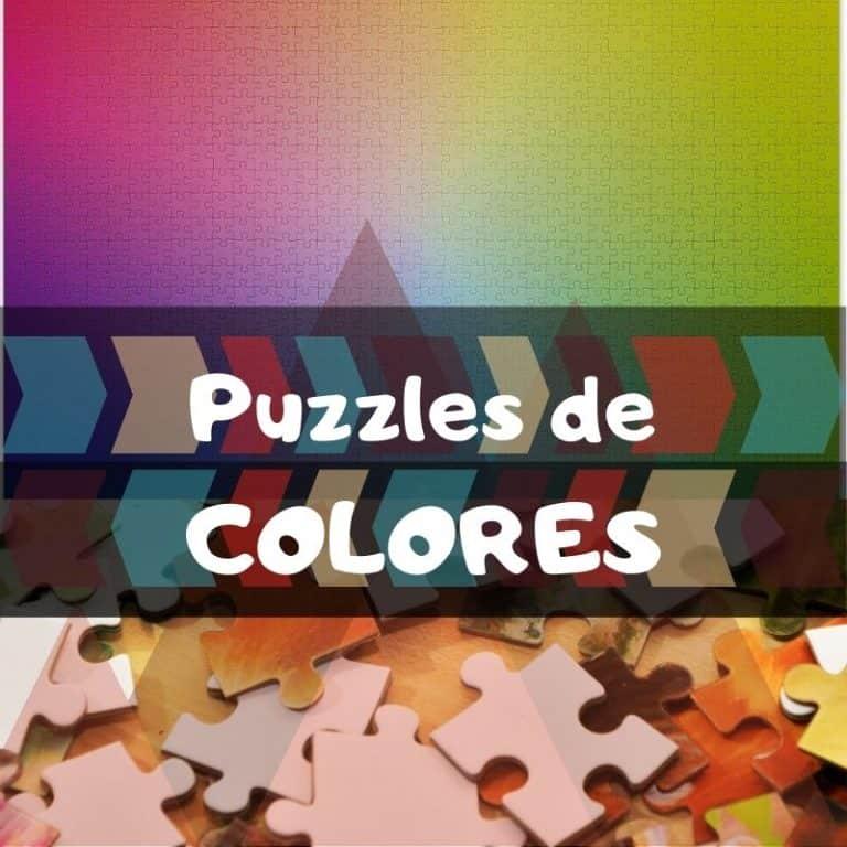 Los mejores puzzles de colores