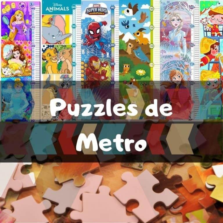 Los mejores puzzles metro infantiles