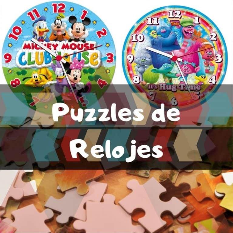 Los mejores puzzles reloj