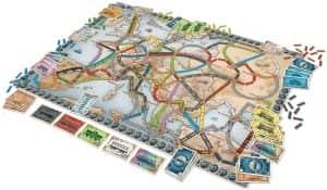 Tablero de Aventureros al tren - Juegos de mesa de - Los mejores juegos de mesa de top 50