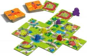 Tablero de Carcassonne Junior - Juegos de mesa de para niños - Los mejores juegos de mesa de top 20 para niños