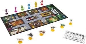 Tablero de Cluedo Junior - Juegos de mesa de para niños - Los mejores juegos de mesa de top 20 para niños