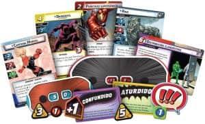 Tablero de Marvel Champions - Juegos de mesa de - Los mejores juegos de mesa de top 50
