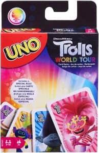 UNO de Trolls - Juegos de mesa de Trolls World Tour - Los mejores juegos de mesa de Trolls