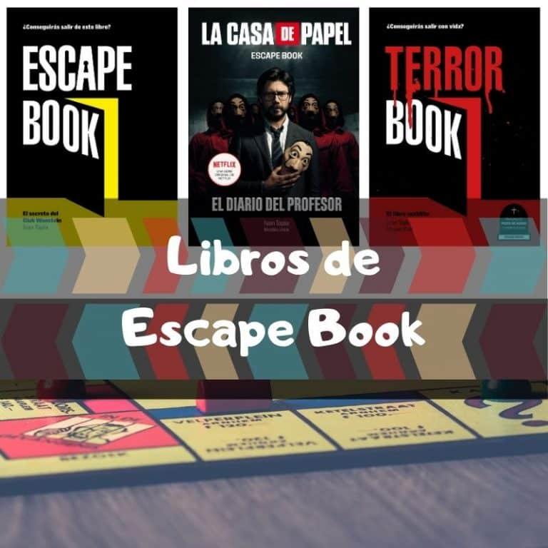 Los mejores libros de Escape Book