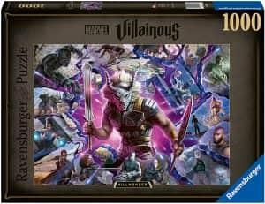 Puzzle de Erik Killmonger de 1000 piezas de Ravensburger - Los mejores puzzles de Marvel