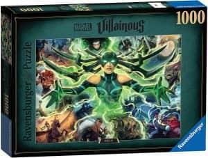 Puzzle de Hela de 1000 piezas de Ravensburger - Los mejores puzzles de Marvel
