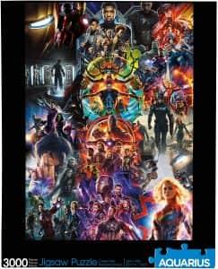 Puzzle de UCM de Marvel de 3000 piezas - Los mejores puzzles de Marvel