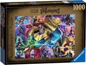 Puzzle de las Gemas del Infinito de Thanos de 1000 piezas - Los mejores puzzles de Marvel