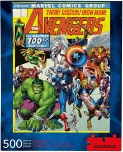 Puzzle De Los Avengers De 500 Piezas De Aquarius Clásicos