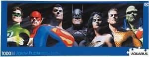 Puzzle de panorama de la Liga de la Justicia de DC de 1000 piezas - Los mejores puzzles de DC