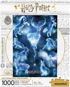 Puzzle de patronus de Harry Potter de 1000 piezas - Los mejores puzzles de Harry Potter