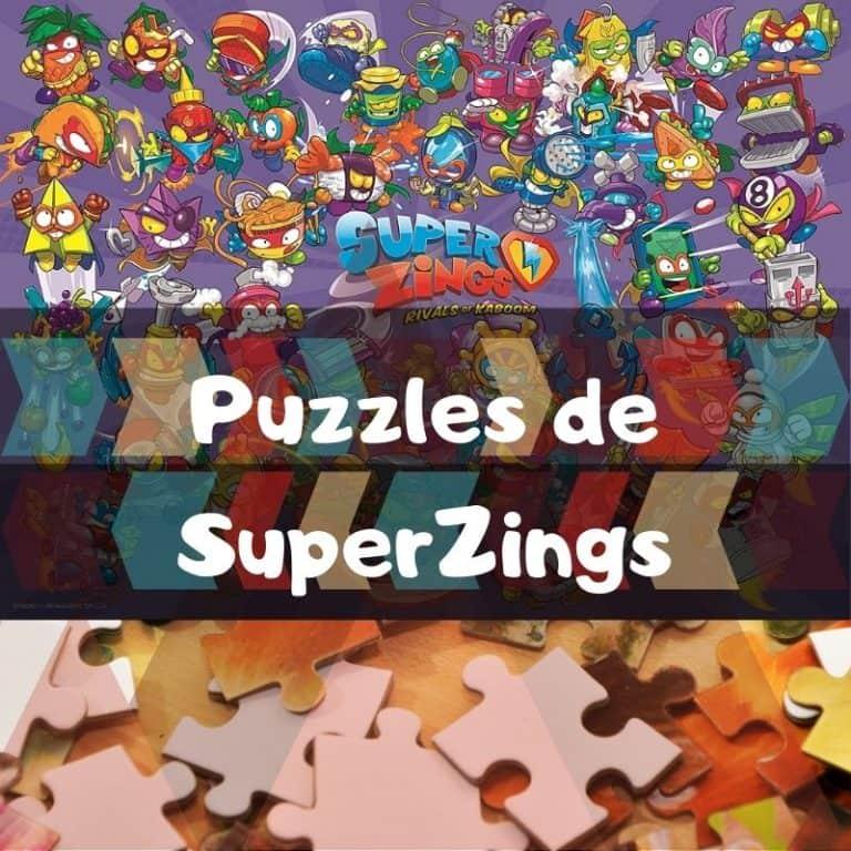 Lee más sobre el artículo Los mejores puzzles de SuperZings – SuperThings