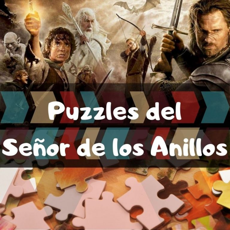 Lee más sobre el artículo Los mejores puzzles del Señor de los Anillos