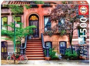 Puzzle de Greenwich Village de Nueva York de 1500 piezas de Educa
