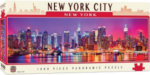 Puzzle de Nueva York Skyline de 1000 piezas de Master Pieces