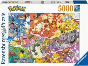 Puzzle De Pokemon De La Primera Generación De 5000 Piezas