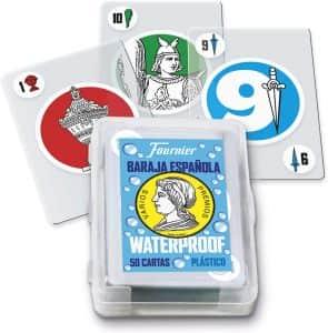 Baraja Española Waterproof - Los mejores juegos de mesa para el verano