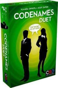 Juego de mesa de Codenames Duet - Los mejores juegos de mesa de Codenames