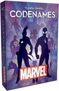 Juego de mesa de Codenames de Marvel - Los mejores juegos de mesa de Codenames