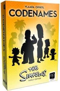 Juego de mesa de Codenames de los Simpsons - Los mejores juegos de mesa de Codenames
