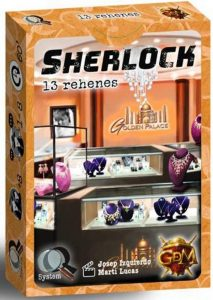 Juego de mesa de cartas de Sherlock 13 Rehenes - Los mejores juegos de mesa de Sherlock de GDM Games