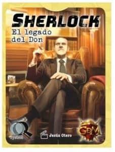 Juego de mesa de cartas de Sherlock El Legado del Don - Los mejores juegos de mesa de Sherlock de GDM Games