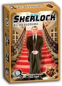 Juego de mesa de cartas de Sherlock El Mayordomo - Los mejores juegos de mesa de Sherlock de GDM Games