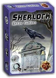 Juego de mesa de cartas de Sherlock Entre tumbas - Los mejores juegos de mesa de Sherlock de GDM Games