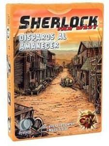 Juego de mesa de cartas de Sherlock Far West Disparos al Amanecer - Los mejores juegos de mesa de Sherlock de GDM Games
