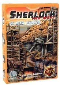 Juego de mesa de cartas de Sherlock Far West La Mina Maldita - Los mejores juegos de mesa de Sherlock de GDM Games