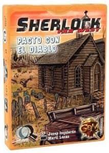 Juego de mesa de cartas de Sherlock Far West Pacto con el diablo - Los mejores juegos de mesa de Sherlock de GDM Games