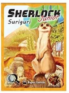 Juego de mesa de cartas de Sherlock Junior Suriguri - Los mejores juegos de mesa de Sherlock de GDM Games