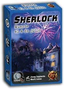Juego de mesa de cartas de Sherlock Muerte el 4 de Julio - Los mejores juegos de mesa de Sherlock de GDM Games