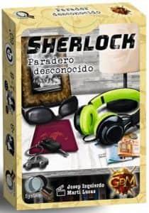 Juego de mesa de cartas de Sherlock Paradero Desconocido - Los mejores juegos de mesa de Sherlock de GDM Games