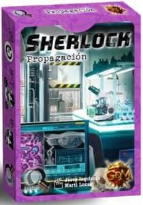 Juego de mesa de cartas de Sherlock Propagación - Los mejores juegos de mesa de Sherlock de GDM Games