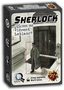 Juego de mesa de cartas de Sherlock Quien es Vincent Leblanc - Los mejores juegos de mesa de Sherlock de GDM Games