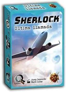 Juego de mesa de cartas de Sherlock Última Llamada - Los mejores juegos de mesa de Sherlock de GDM Games