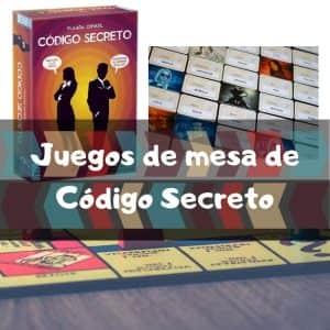 Juegos de mesa de Código Secreto - Los mejores juegos de mesa del Código Secreto de cartas de investigación