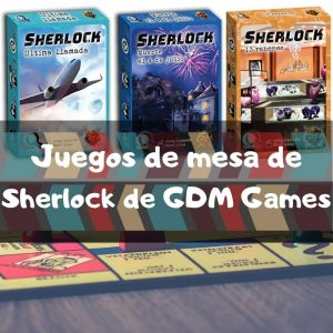 Juegos de mesa de Sherlock de GDM Games - Los mejores juegos de mesa de cartas de Sherlock de investigación
