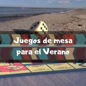 Juegos de mesa para el Verano - Los mejores juegos para el Verano en la playa - Juegos impermeables para el verano