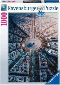 Puzzle de París desde el aire de 1000 piezas