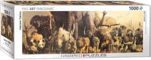 Puzzle de animales de 1000 piezas de Eurographics - Los mejores puzzles de panorama de animales