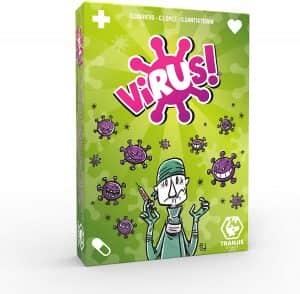 Virus - Los mejores juegos de mesa para el verano