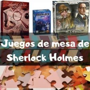 Juegos de mesa de Sherlock Holmes - Puzzles de Sherlock Holmes - Puzzles de personajes de Sherlock Holmes de Arthur Conan Doyle