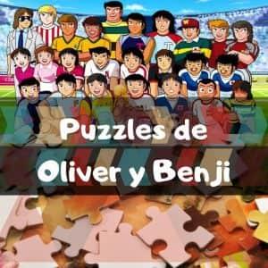 Los mejores puzzles de Oliver y Benji - Puzzles de Oliver y Benji - Puzzle de Oliver y Benji
