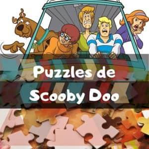 Los mejores puzzles de Scooby Doo - Puzzles de los dibujos animados de Scooby Doo